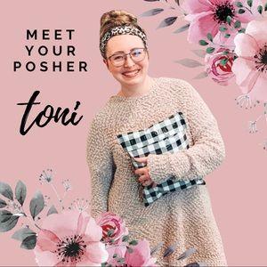 Meet your Posher, Toni